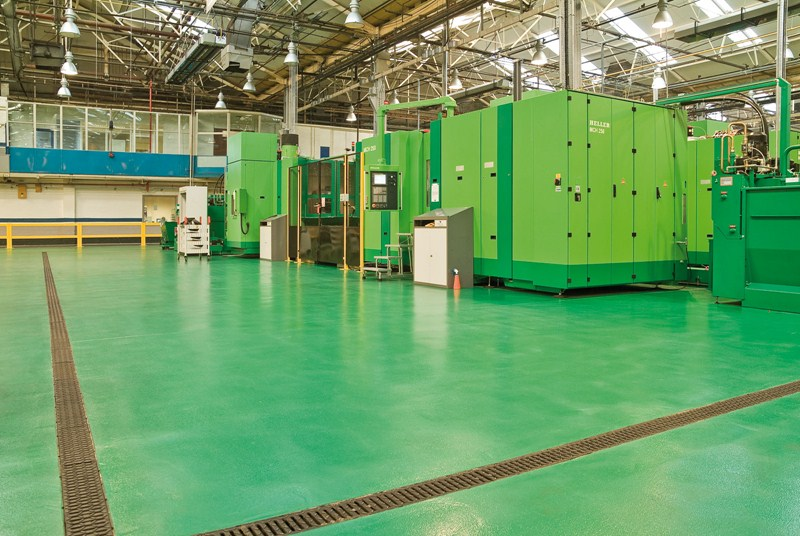 Perkins Engines | Resin Flooring Projects by ECF